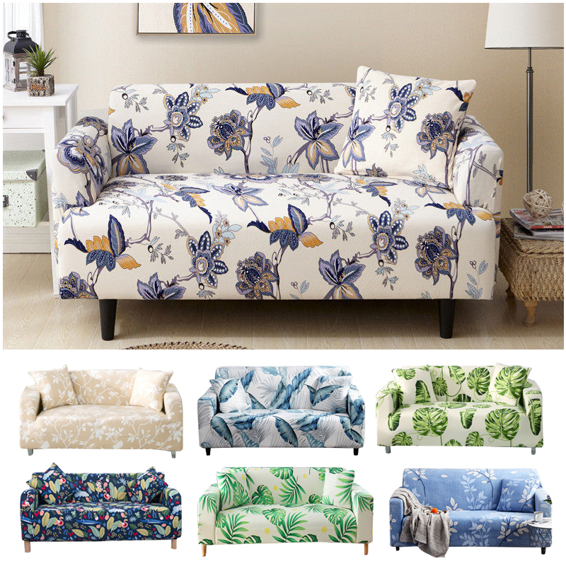 Nordic Style Slipcovers Sofa Cover Cotton Elastic Sofa Cover For Living Room Couch Cover Sofa Towel Single/Two/Three/Four-seater
