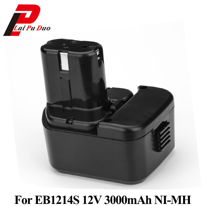 For Hitachi 12V 3.0Ah NI-MH EB1214S Batteries Rechargeable Power Tool Battery For DS12DVF3 EB1212S EB1214L EB1214S EB1220BL for hitachi 12v 3 0ah ni mh eb1214s ds12dvf3 batteries rechargeable power tool battery for eb1212s eb1214s eb1214l eb1220bl
