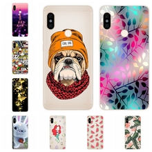 Silicone Case For Xiaomi Redmi Note 5 Case 5.99' Print Cute Cat Cover Phone Cases for Xiomi Redmi note 5 note5 pro fundas Coque