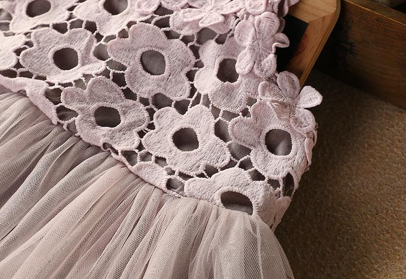 HTB1MSICdYZnBKNjSZFhq6A.oXXa0 - Sodawn 2018 New Children Clothing Fashion Girls Dress Lace Fluffy Pop Princess Dresses Baby Girls Clothing Summer New Kids Dress