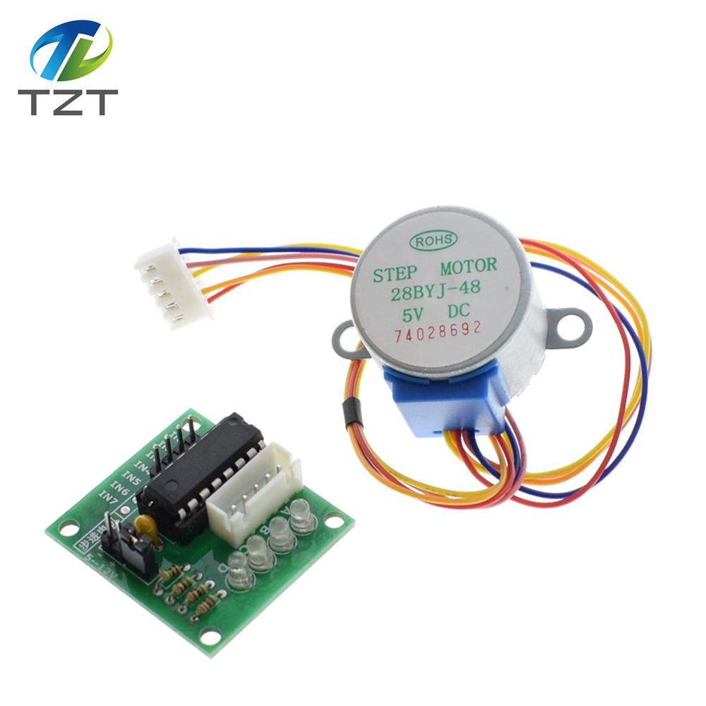 10lots 28byj 48 5v 4 Phase Stepper Motor Driver Board Uln2003 For Dc Relay Circuit Ic Arduino 10 X 10x In Integrated Circuits From