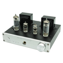 FX-Audio Tube-P1 6J1 6P1 HiFi MCU Single Ended Classic A Desktop Power Tube Amplifier RCA/Phono Input цена и фото