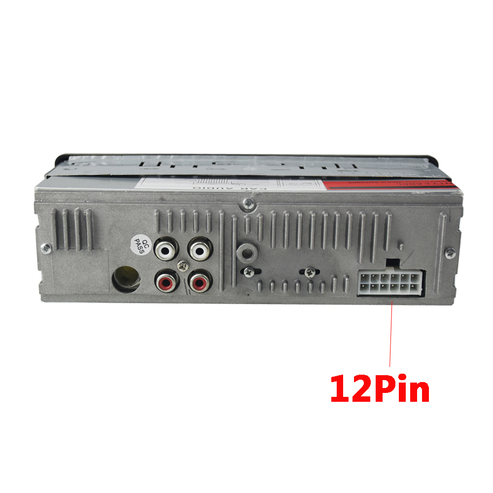 Купить с кэшбэком NEW 12V Car Radio Player Bluetooth Stereo FM MP3 USB SD AUX Audio Auto Electronics autoradio 1 DIN oto teypleri radio para carro