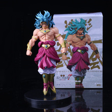 Anime Dragon Ball Z Figure Model Toy Broly Super Saiyan PVC Action Figure Goku Fighting Standing Version Collectible Gifts