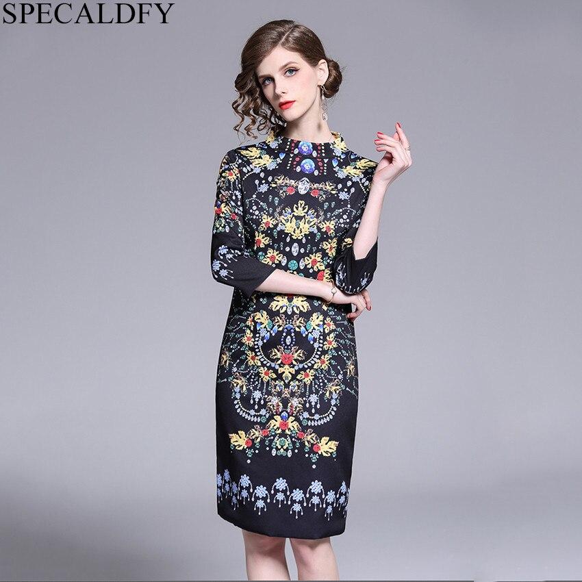 Ropa Mujer 2019 vestidos de pasarela de diseñador de Moda de Primavera 2019 vestidos de fiesta de alta calidad para Mujer vestido de oficina para Mujer