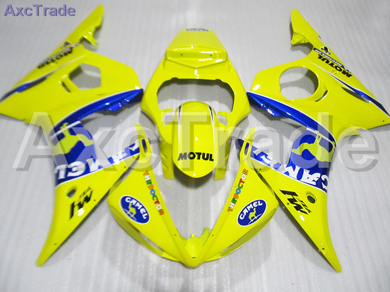 High Quality ABS Plastic For Yamaha YZF600 YZF 600 R6 YZF-R6 2003 2004 2005 03 04 05 Moto Custom Made Motorcycle Fairing Kit high quality abs plastic for yamaha yzf600 yzf 600 r6 yzf r6 2003 2004 2005 03 04 05 moto custom made motorcycle fairing kit