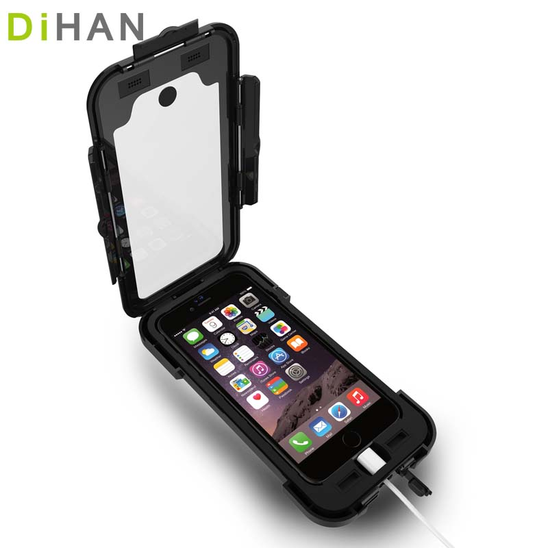 bike accessories mobile phone cover case Waterproof bike holder Motorcycle cellphone Mount For iPhone 678Plus telefone support