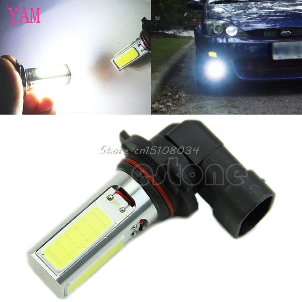 9005 HB3 COB LED Fog Light Super Bright White 20W 9145 9140 Fog Lamp Bulb S08 Drop ship