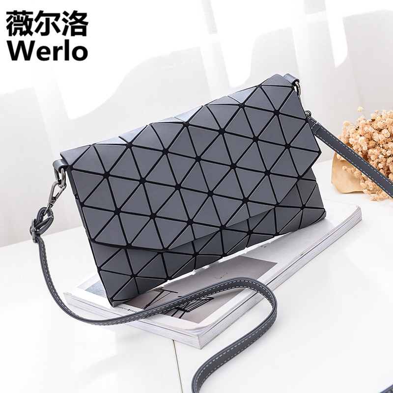 WERLO New Designer Fashion Small Bag Women Messenger Bags Soft Leather Crossbody Bag For Women Clutches