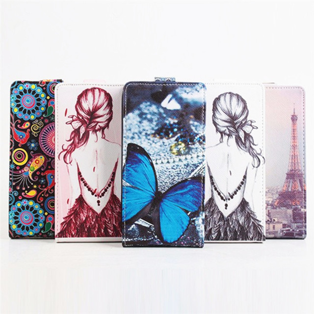 5 Cool Painted Case Cover For Philips S388 Case, Luxury Magnetic Flip Leather Case For Philips S388 Cover Skin Shell Capa