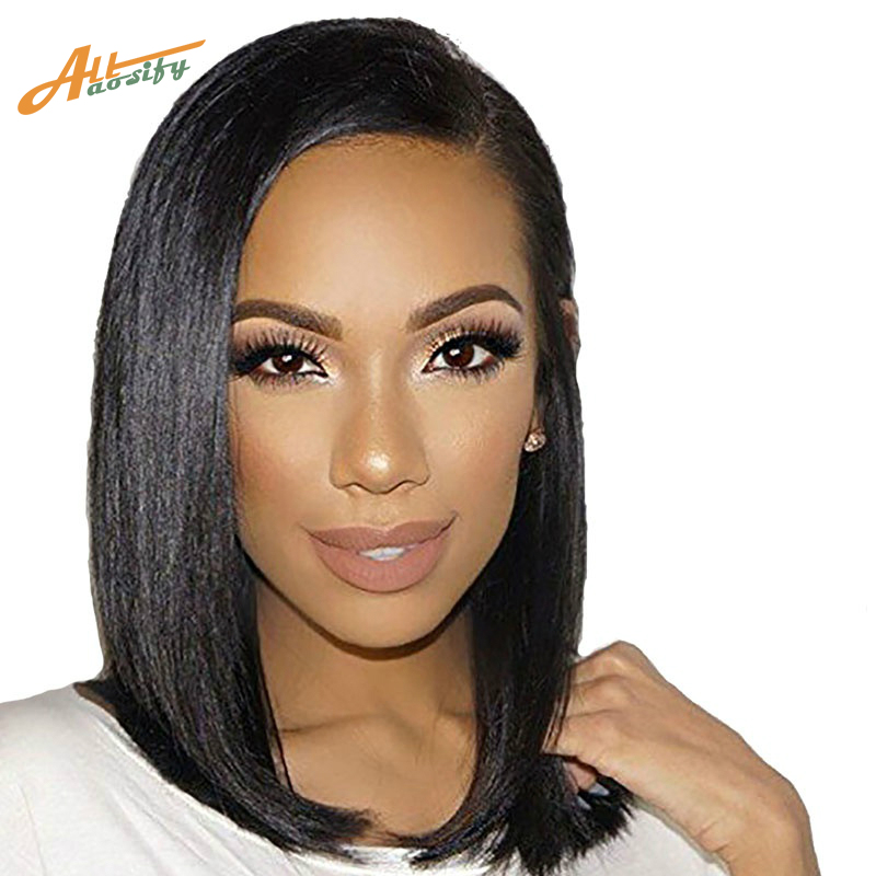Allaosify Long Hair Female Bob Wig High Temperature Synthetic Fiber Wig Cospaly Wig Halloween Wig