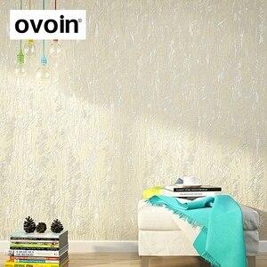 Image 3 - Branco, Marrom Abstrato Metálico Em Relevo Simples papel de Parede Texturizado 3D Luxo Grosso Papel De Parede Para O Quarto Sala de estar Decoração de Casa