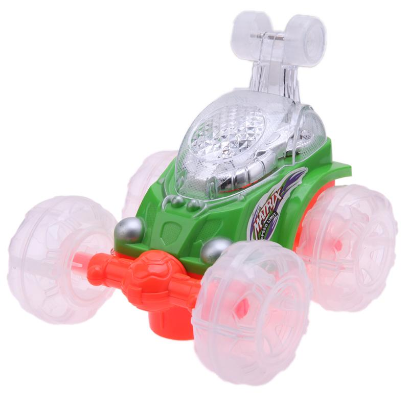 Fashional Colored Dumper Rolling Rotating Wheel Vehicle Funny Truck RC Car Remote Control Toy Electric Toy Dancing Dump Car