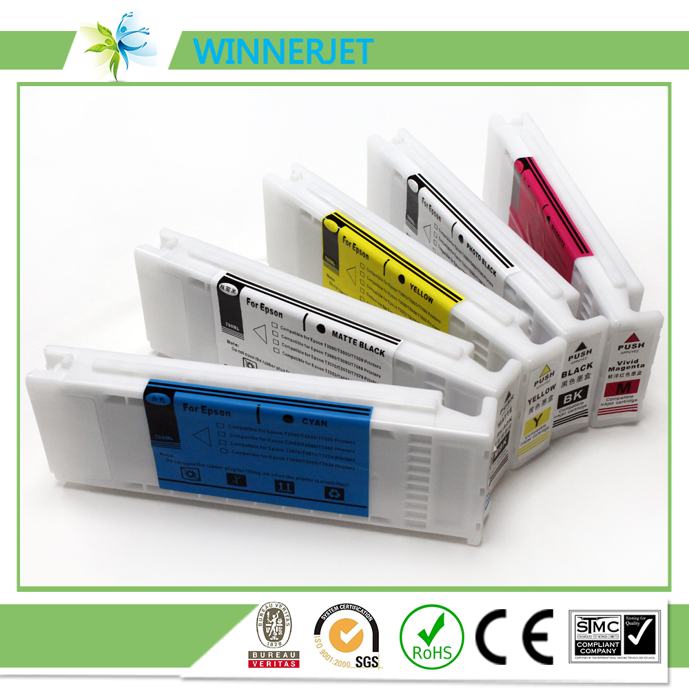 700ml compatible ink  cartridge for epson SC T series (2)
