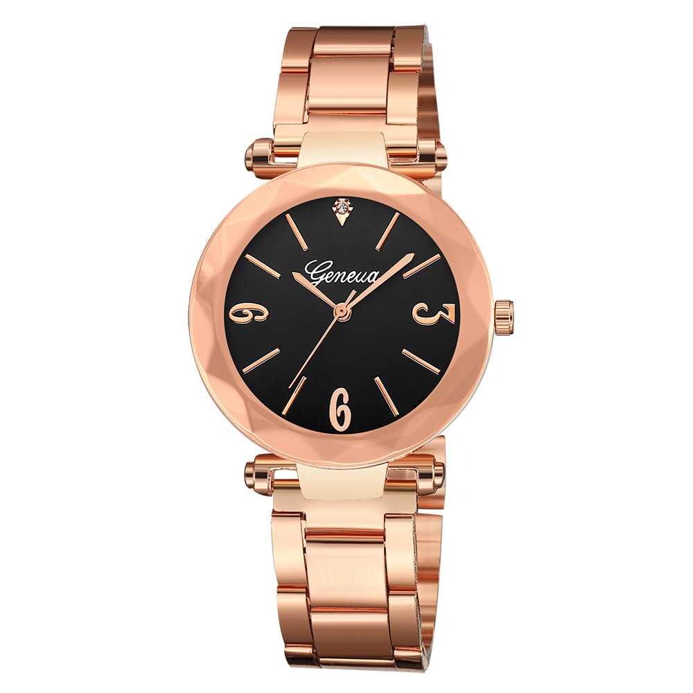 Relogio Feminino 2019 Womens Watches Top Brand Luxury Quartz Sport Military Stainless Steel Dial Leather Band Wrist Watch S7