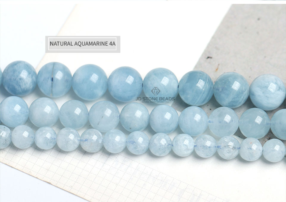 HTB1MSKRXEjrK1RkHFNRq6ySvpXa3 4 6 8 10 12 mm Natural Aquamarine loose Beads Free Shipping Faceted Blue Pick Szie  DIY Accessory Gemstone For Jewelry Making