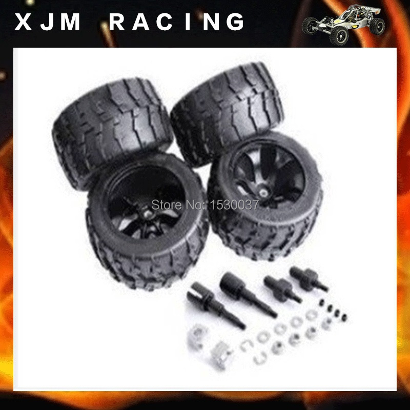 BAJA with big feet tire suite (ii) tires x 4pcs,front&rear baja 5b ii front wheel off road tire assembly