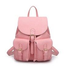 Hot-selling women's Backpack the shoulder bags fashion leather backpack women casual street sweet gentle women bags school bag
