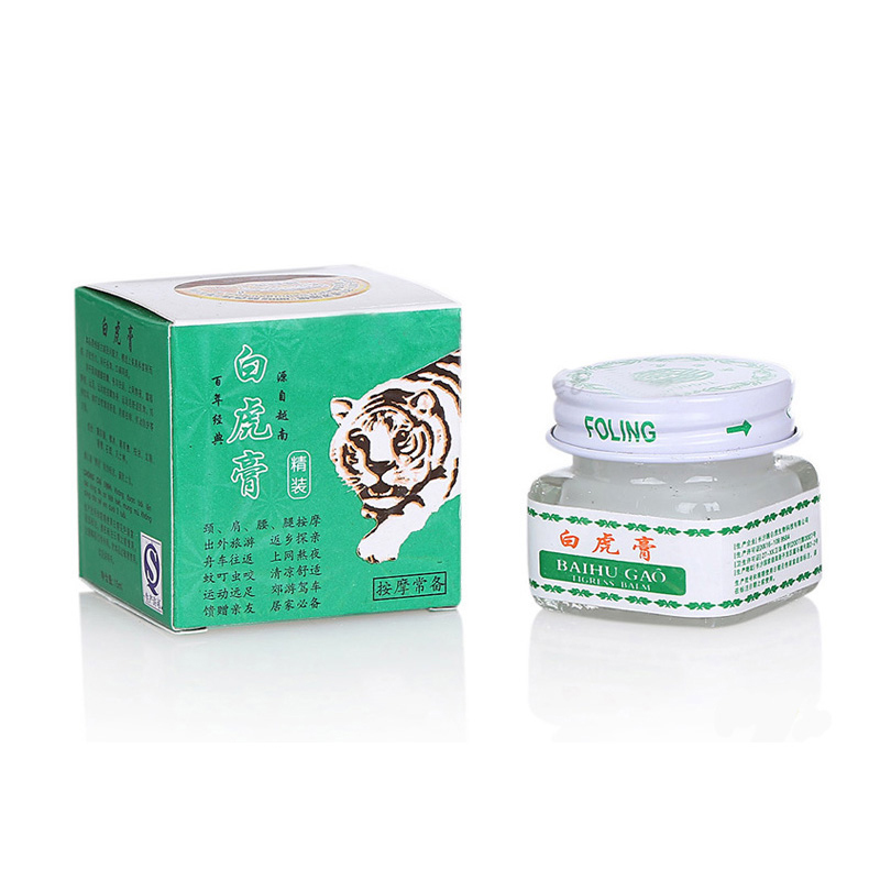 Image 5 - 5pcs Vietnam White Tiger Balm For Headache Toothache Patch Cream Body Neck Massager Meridians Stress Pain Relief Arthritis Cream-in Patches from Beauty & Health