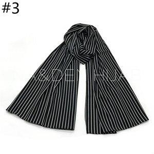 Image 5 - NEW chiffon striped print hijab scarf sea star pattern fashion women muslim hijabs islamic scarves shawls brand soft muffler