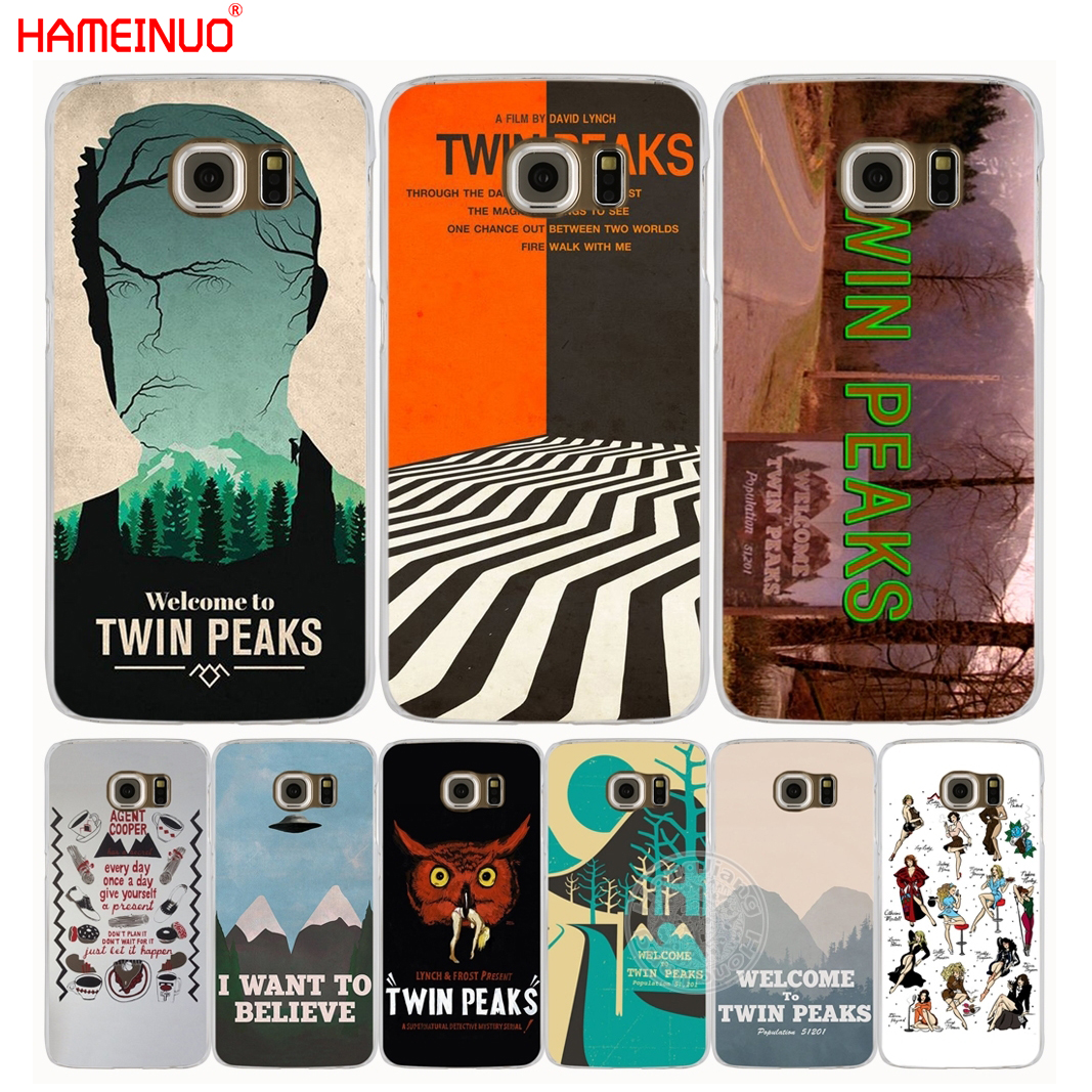 HAMEINUO Welcome To Twin Peaks cell phone case cover for Samsung Galaxy S7 edge PLUS S8 S6 S5 S4 S3 MINI
