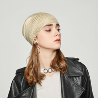 Andybeatty Women's beanies hats for Winter knitted