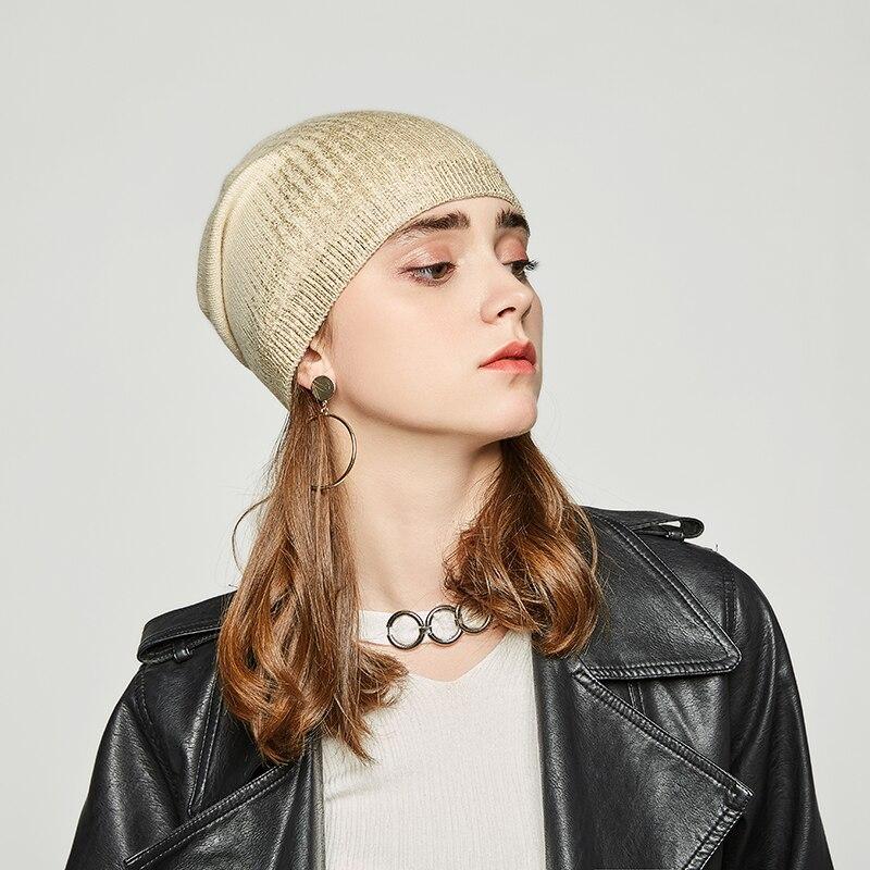Andybeatty delle Donne berretti cappelli per L'inverno ha lavorato a maglia