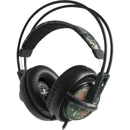 ФОТО Original Brand Steelseries Siberia V2 CSGO Edition Gaming Headphone noise isolating game Headphones Headset for headphone gamer