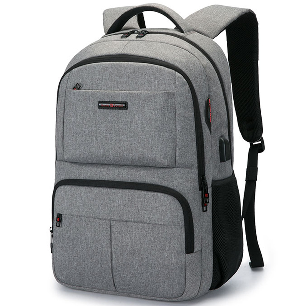 Multifunction USB charging Men 18inch Laptop Backpacks For Teenager Fashion Male Mochila Travel backpack anti thief