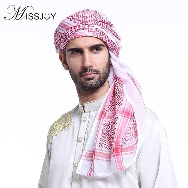 MISSJOY Arabic clothing for men Fashion Bonnet islamique Islamic Indian  Dubai Printed headscarf hijab caps Muslim man Hat 6c3180685