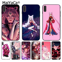 MaiYaCa Sailor Moon Black lady New Arrived High Quality phone case for Apple  iPhone 8 7 6 6S Plus X XS MAX 5 5S SE XR Cover 408649892