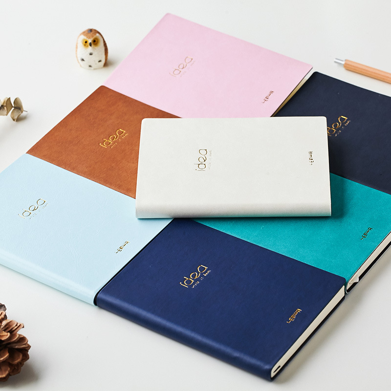 Creative A6 leather Portable mini commerce Hardcover Notebook Simple Solid Color personal planner Diary Note agenda StationeryCreative A6 leather Portable mini commerce Hardcover Notebook Simple Solid Color personal planner Diary Note agenda Stationery