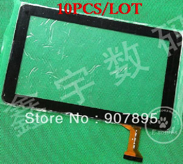 10pcS H-CTP090-001A 9inch capacitive touch screen digitizer panel  for  Allwinner A13 T90 tablet pc H-090-001-B Fpc for nomi c10102 10 1 inch touch screen tablet computer multi touch capacitive panel handwriting screen rp 400a 10 1 fpc a3