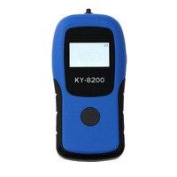 Профессиональный Портативный Высокая точность подсветкой Дисплей цифровой тестер алкоголя Измеритель концентрации алкоголя полиция дыха