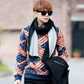 Top Fashion Autumn Winter Unisex Men Women Warm Scarf Desigual Two-sided Solid Knit Scarfs Neckerchief pashmina Discounts NWJ067