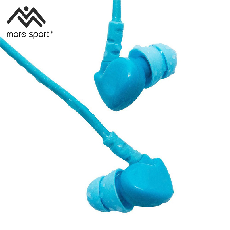 waterproof IPX8 sports earphones for running,swimming
