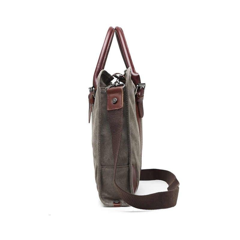 Nuevo bolso de lona verde militar para hombre, bolso cruzado para hombre, bolso bandolera de lona para viaje, bolso de hombro para adolescentes G075