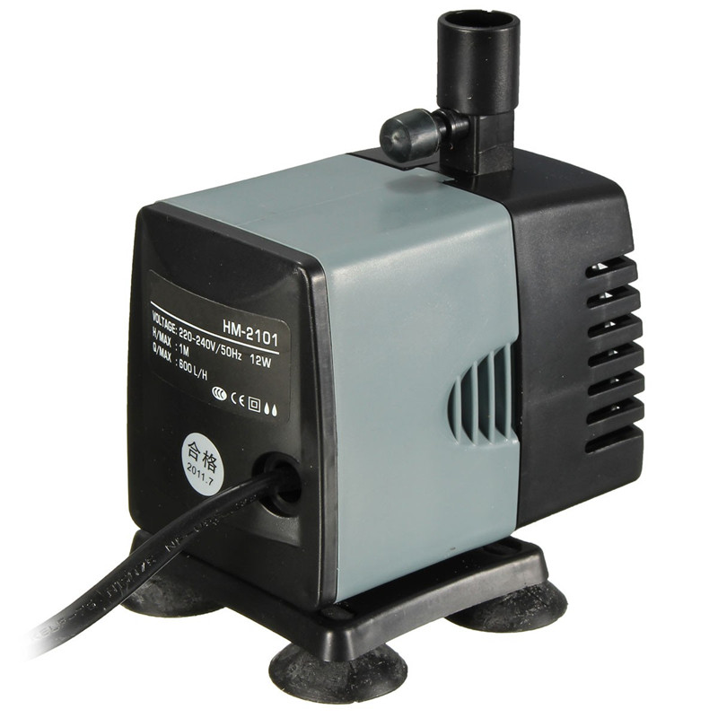 High quality aquarium fish tank submersible pump water for Submersible water pond garden pump filter