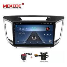Бесплатная доставка 10,1 «1024×600 HD 4 ядра Android 8,1 автомобиль DVD для hyundai Creta IX25 2014-18 с оперативная память GPS Радио Навигация