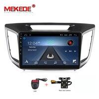 free shipping 10.1 1024x600 HD Quad 4Core Android 8.1 Car DVD For Hyundai Creta IX25 2014 18 with RAM GPS Radio Navigation
