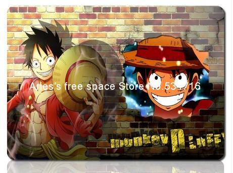 One Piece mousepad Luffy cute cartoon aesthetic gaming mouse pad gamer large notbook computer mouse mat 8 size gear mouse pad