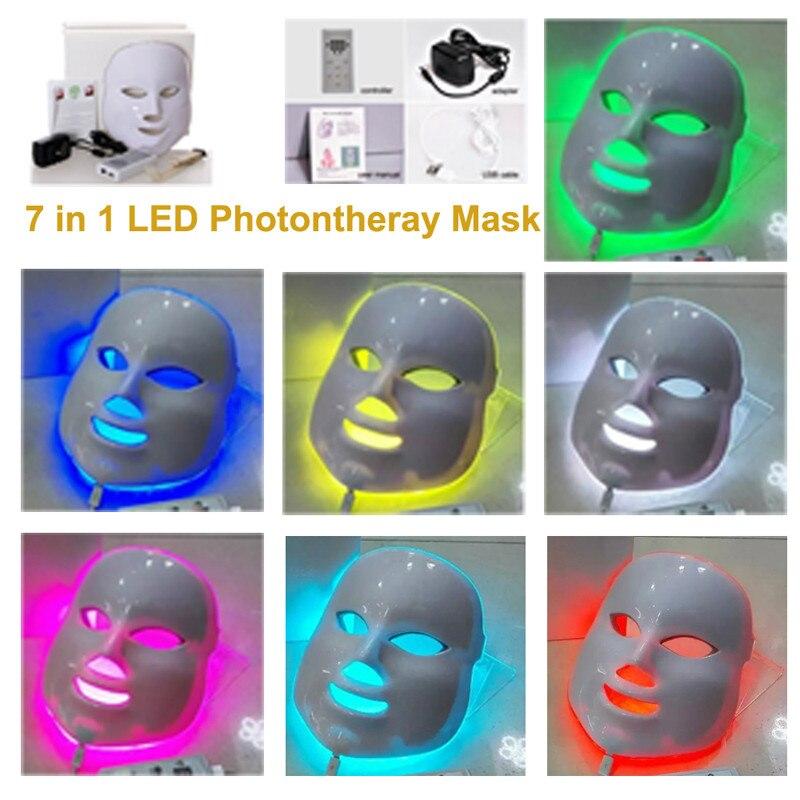 7 in 1 led mask