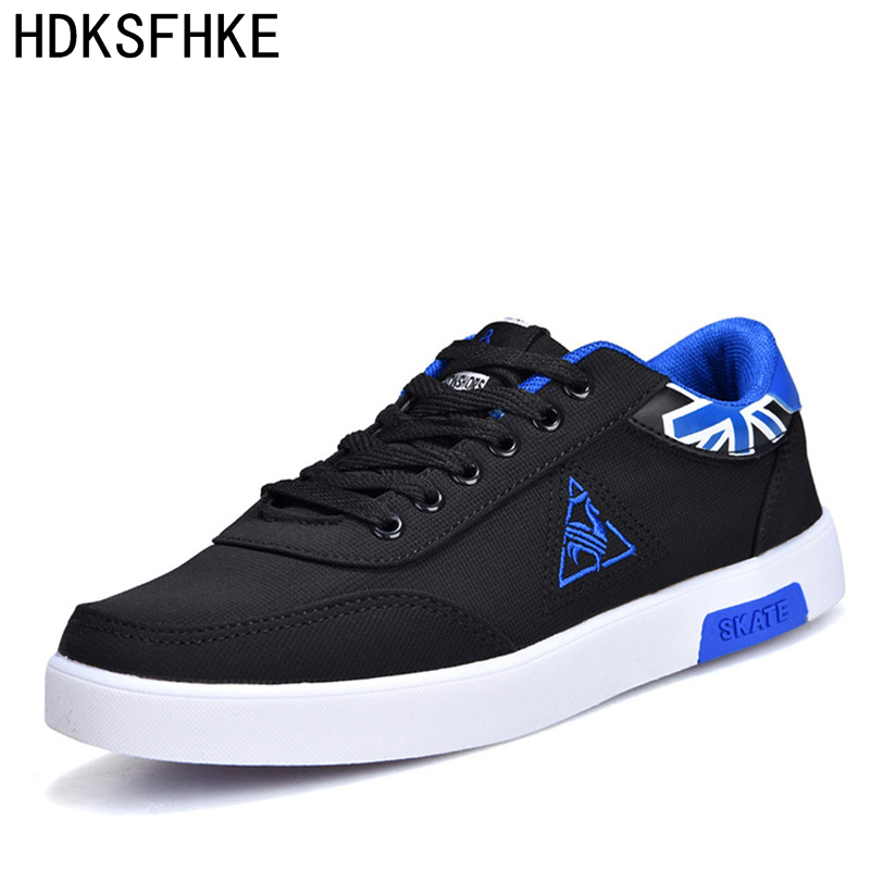 2017 Mens Casual Shoes men outdoor walking Breathable Footwear Loafers black male shoes fashion brand canvas casual men shoes