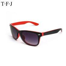 Tfj 2016 retro vintage new fanshion gafas de sol mujeres hombres diseñador de la marca gafas de sol de moda uv400 gafas de sol gafas de mujer