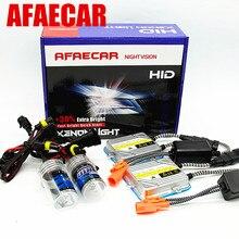 AFAECAR hid xenon block ignition 55w Digital slim ballast car hid h4 h7 9005 9006 H11