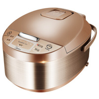 10 часов Хранение новые изящные Пособия по кулинарии Технология Электрический Риса Плита 5L большой Ёмкость Металлический горшок интеллекту