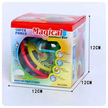 Magical intellect ball 3D 100 step puzzle game toy,kid brain teaser educational magic ball,children christmas gift