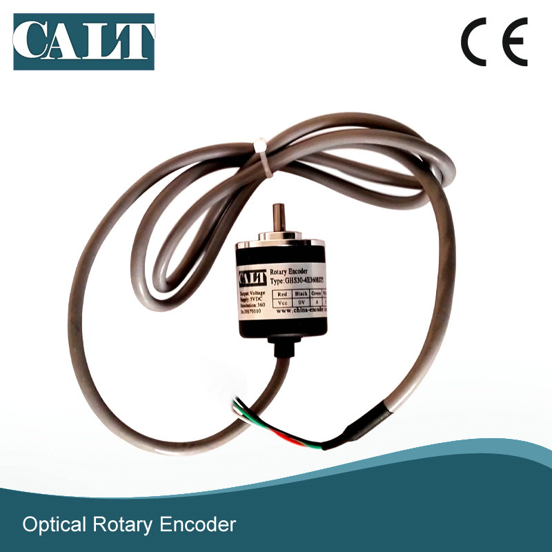 Low price for open collector npn output encoder calt GHS30 digital optical encoder rotary speed sensors calt sensor optical incremental encoder diy custom replace for totem pole rotary encoder e40s6 series