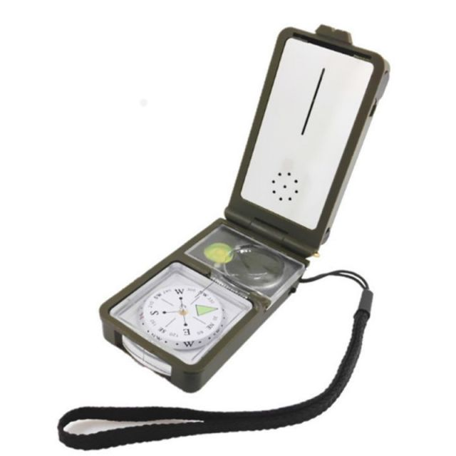 Camping equipment 10-in-1 multi-function outdoor survival military camping hiking compass tool kit Combination Compass Kit 8