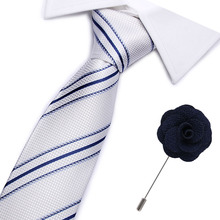 New  100% Silk ties Mens Ties fashion Necktie set Plaid Stripe Mans Tie with gift box Extra long size 145*7.5cm